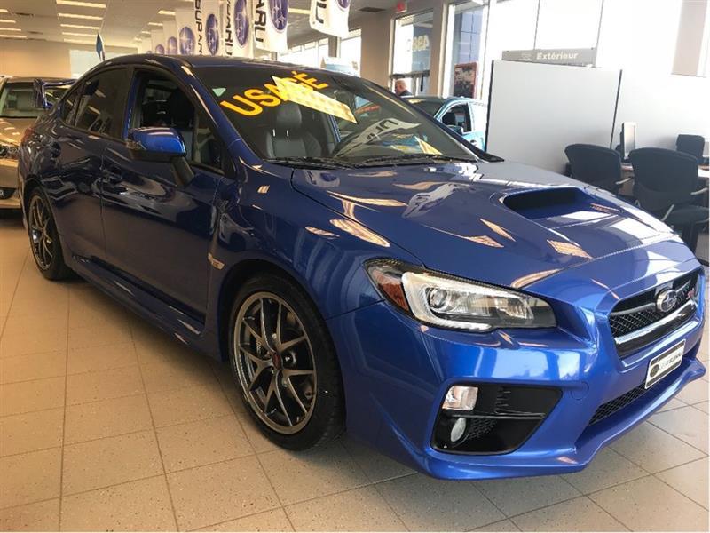 Subaru Wrx Sti 2016 Sport-tech Package #15115A