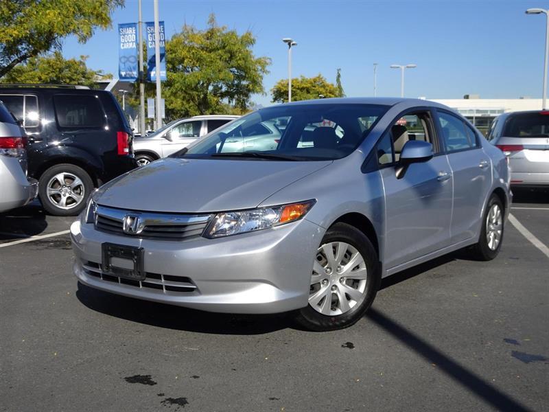 2012 Honda Civic LX! Honda Certified Extended Warranty to 160,000 K #W2113A