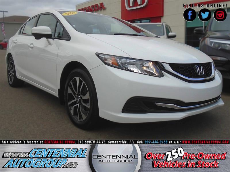 2015 Honda Civic Sedan EX | 1.8L | i4-Cyl | Bluetooth | Heated Seats #U1623