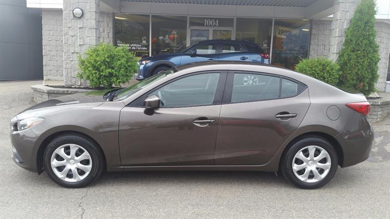 Mazda MAZDA3 2015 4dr Sdn GX #18055A