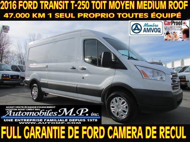 Ford Transit 2016 T-250 ALLONGÉ CARGO TOIT MOYEN #014