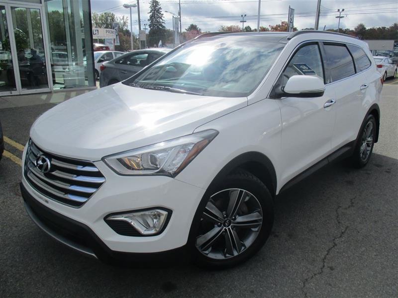 Hyundai Santa Fe Xl 2016 Limited 7 PASS,NAVIGATION,BANCS VENTILÉS,TOIT PANO #E-0204