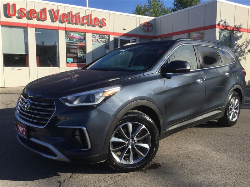 2017 Hyundai Santa Fe Xl LUXURY- AWD, NAV, BSM, PANOROOF, 7 PASS #P6706