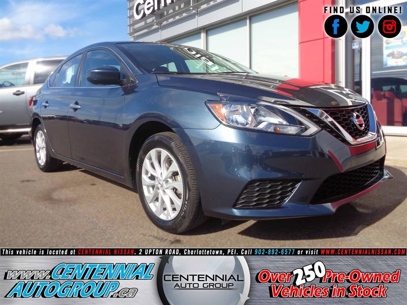 2017 Nissan Sentra SV | FWD | Moonroof | Bluetooth | Heated Seats #P17-174