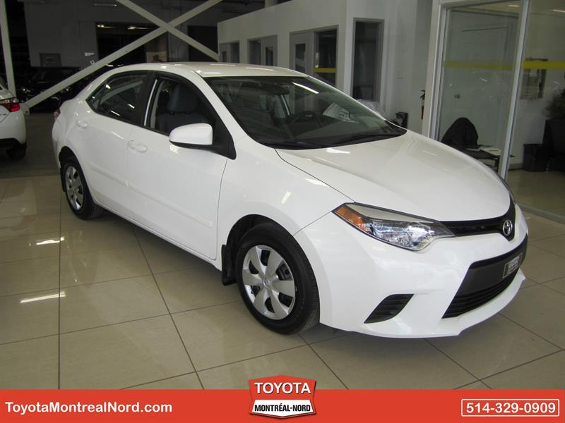 Toyota Corolla 2015 CE Gr. Electric #2867 AT