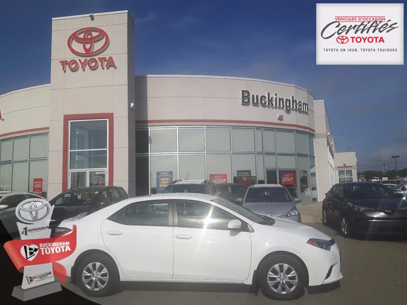 Toyota Corolla 2014 CE #P-100-17