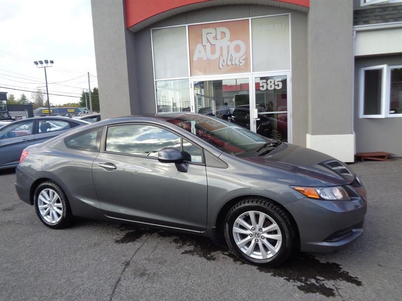 Honda Civic Cpe 2012 CIVIC 2 PORTES  EX TOIT***MAG*** AUTOMATIQUE #9276