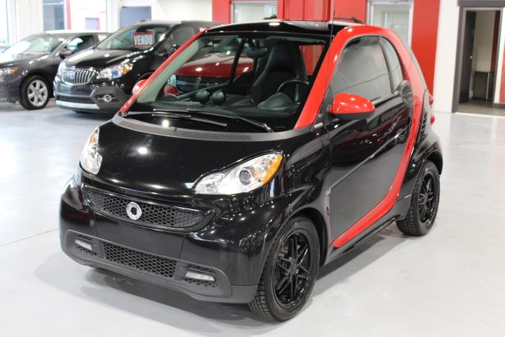Smart fortwo 2013 SHARP RED #0000000259