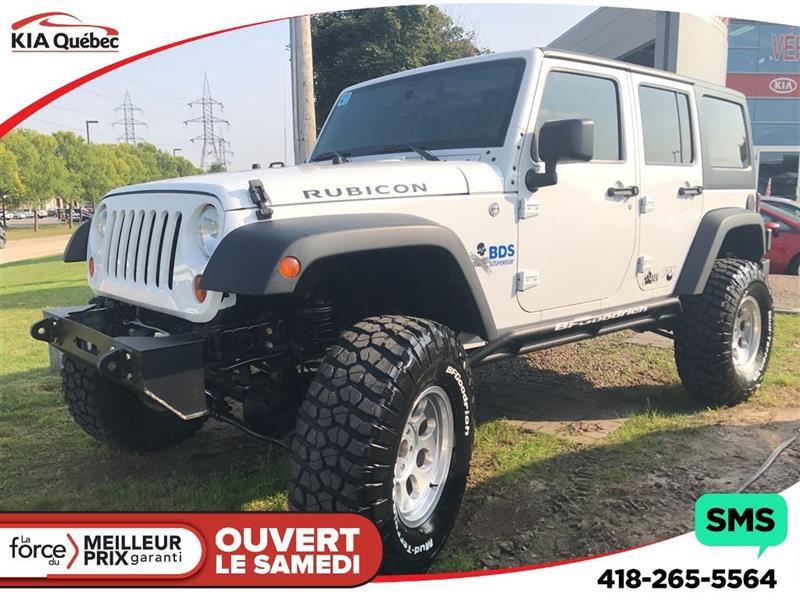 Jeep Wrangler Unlimited 2013 RUBICON *PNEUS FLAMBANT NEUF* #K180319B