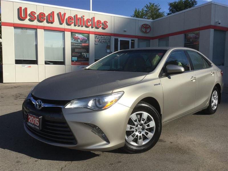 2015 Toyota Camry Hybrid LE - BACKUP CAM, BLUETOOTH, KEYLESS ENTRY #L6714