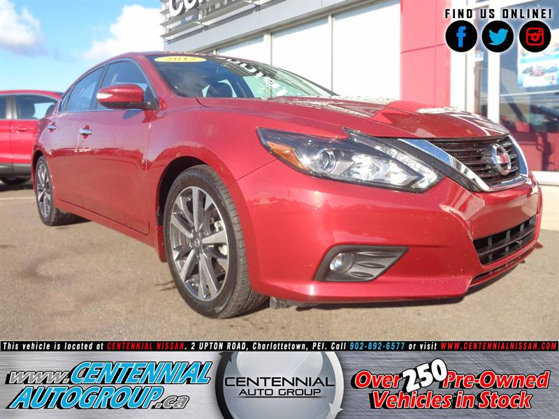 2017 Nissan Altima 2.5 SL | Leather | Navigation | Bluetooth  #P17-188