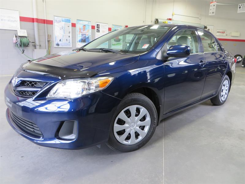 Toyota Corolla 2013 CE Gr:B *CLIMATISEUR+AUTOMATIQUE* #U7641