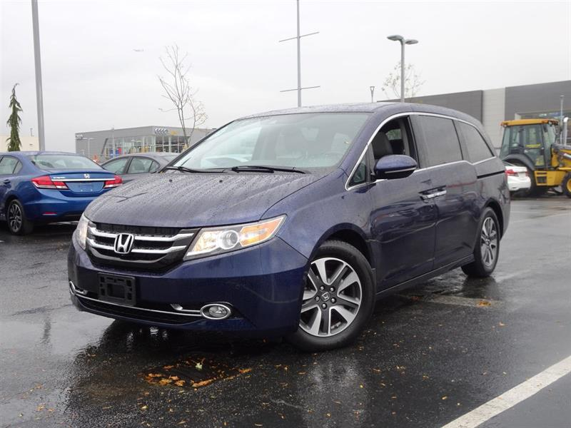 2015 Honda Odyssey Touring! Honda Certified Extended Warranty to 120, #LH7727