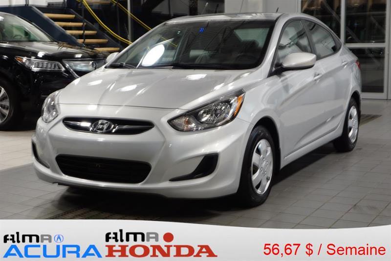 Hyundai Accent 4-dr 2012 GL #177574A