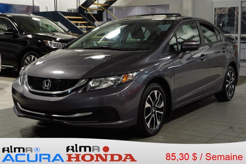 Honda Civic 2014 EX #A3064