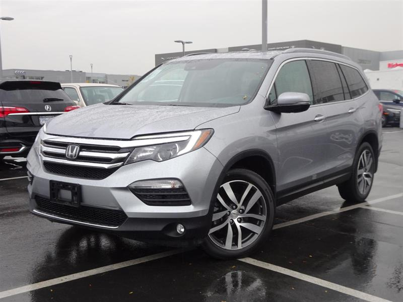 2016 Honda Pilot Touring! Honda Certified Extended Warranty to 120, #LH7747