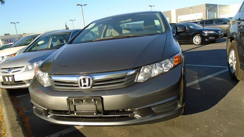 2012 Honda Civic EX! Honda Certified Extended Warranty to 160,000 K #W1984A