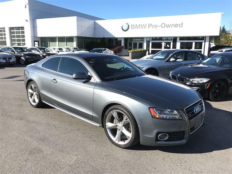 2012 Audi A5 2.0T Prem Tip qtro Cpe #BP5453