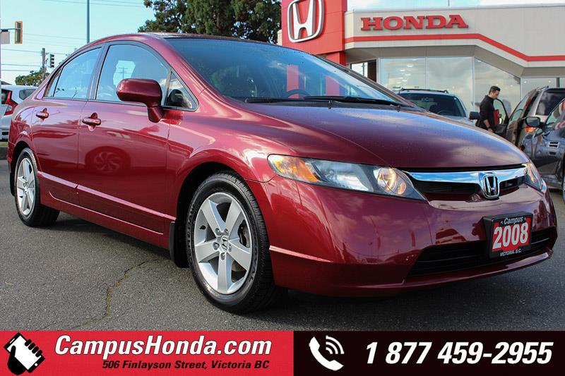 2008 Honda Civic Sdn LX Sedan Manual #18-0061A