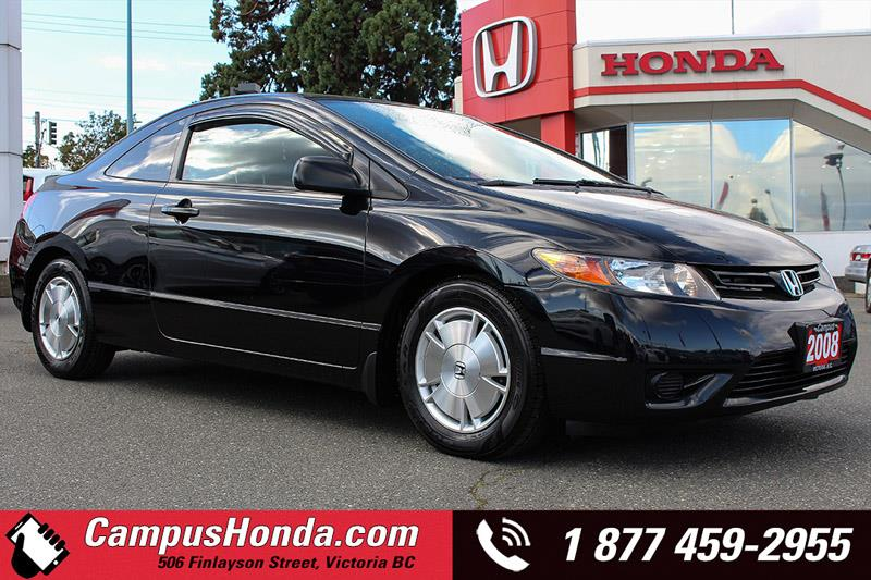 2008 Honda Civic Cpe DX-G 2DR Manual #B5333A