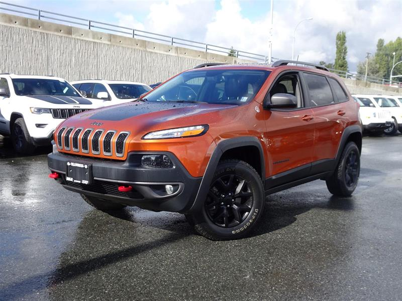 2016 Jeep Cherokee Trailhawk #17UP417