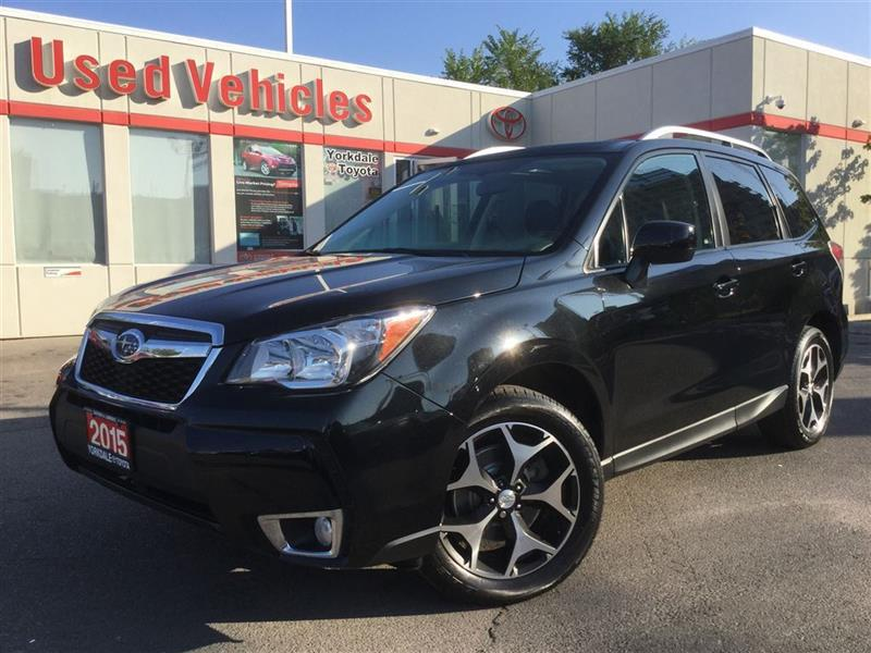 2015 Subaru Forester 2.0XT TOURING- AWD, PANOROOF, X-MODE, BACKUP CAM #P6681
