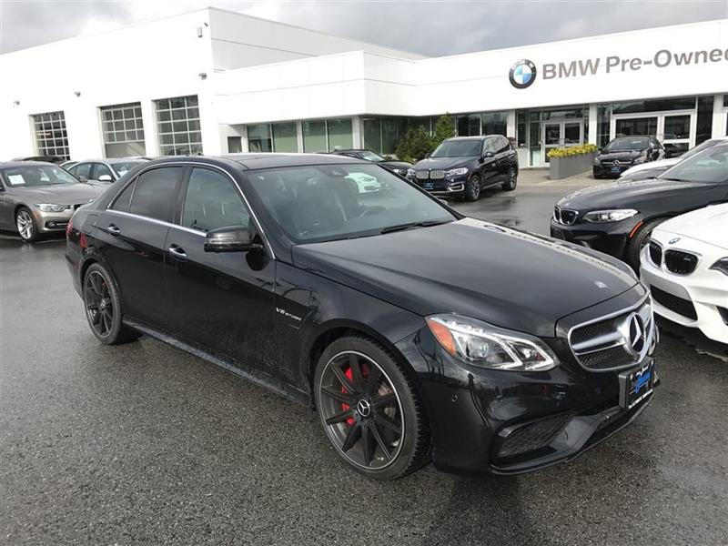 2014 Mercedes-Benz E Class E63 AMG S-Model 4MATIC Sedan #BP553610