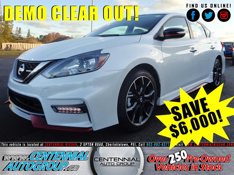 2017 Nissan Sentra NISMO *DEMO - SAVE $6,000!* #17-185