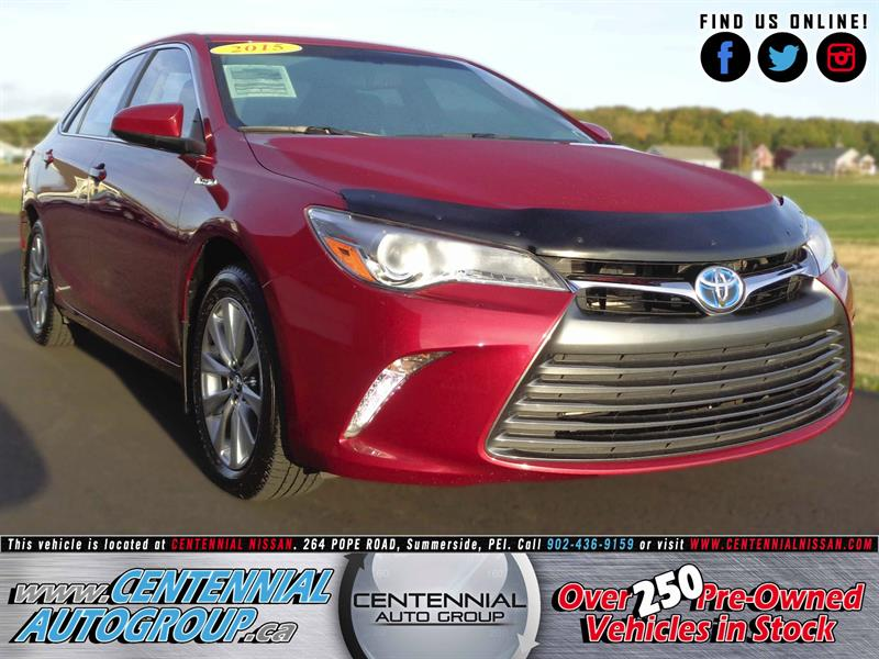 2015 Toyota Camry Hybrid XLE | 2.5L | i4-Cyl | Leather #S17-305A