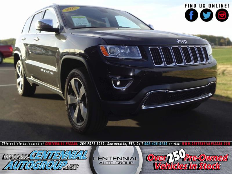 2015 Jeep Grand Cherokee Limited | 4WD | 3.6L | V6 | Bluetooth #SP17-036