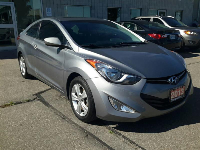 2013 Hyundai Elantra Coupe GLS MT - Leather/Sunroof - Trade-In #72137A