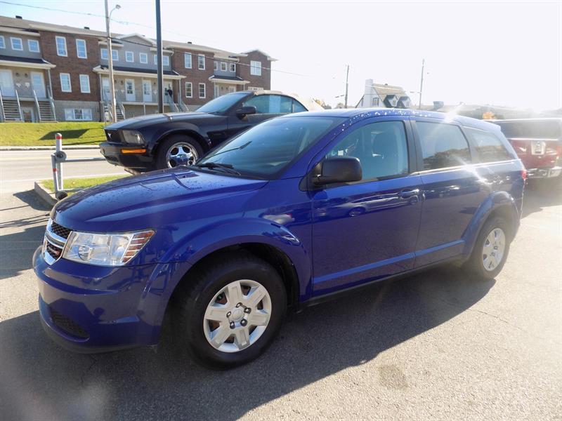 Dodge Journey 2012 Canada Value Pkg #AD5163