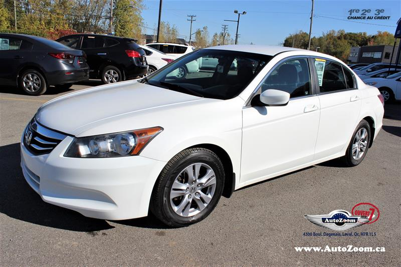 Honda Accord Sedan 2012 SE #A4192