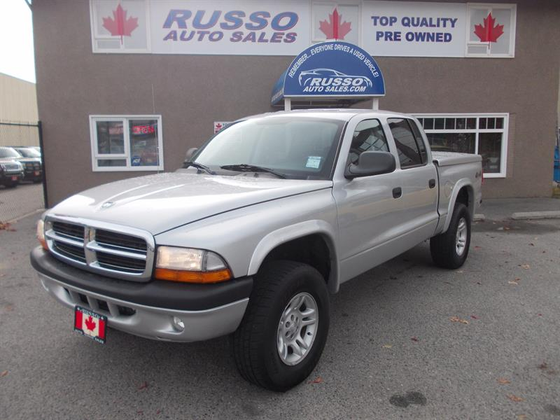 2004 Dodge Dakota Sport, Quad Cab 4X4 #B0472