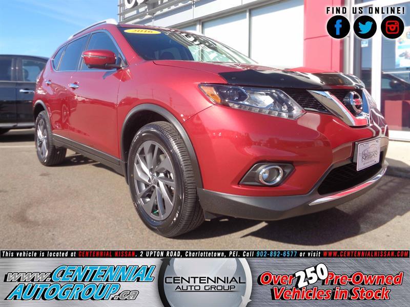 2016 Nissan Rogue SL | AWD | Moonroof | Navigation | Leather         #17-537A