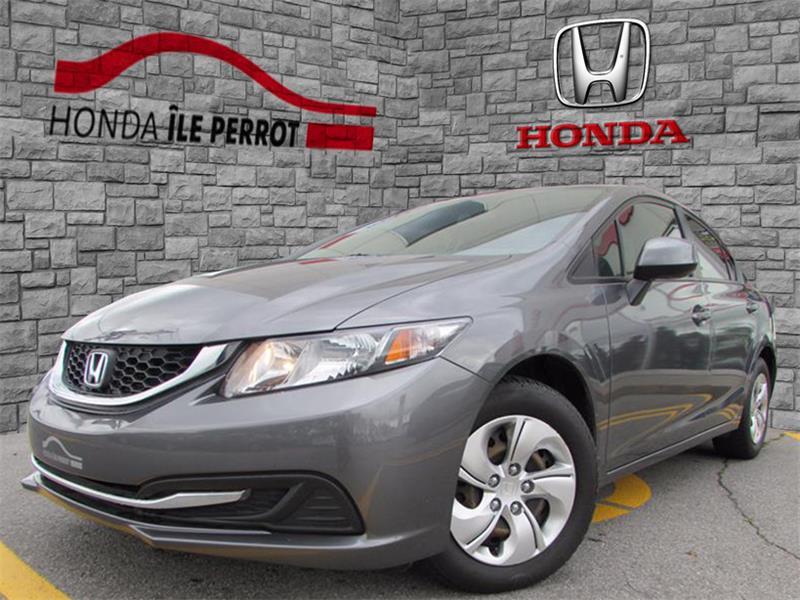 Honda Civic Sdn 2013 4dr Man LX BLUETOOTH SIEGES CHAUFFANT  #44111