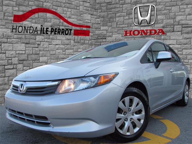 Honda Civic Sdn 2012 4dr Auto LX BLUETOOTH #44218