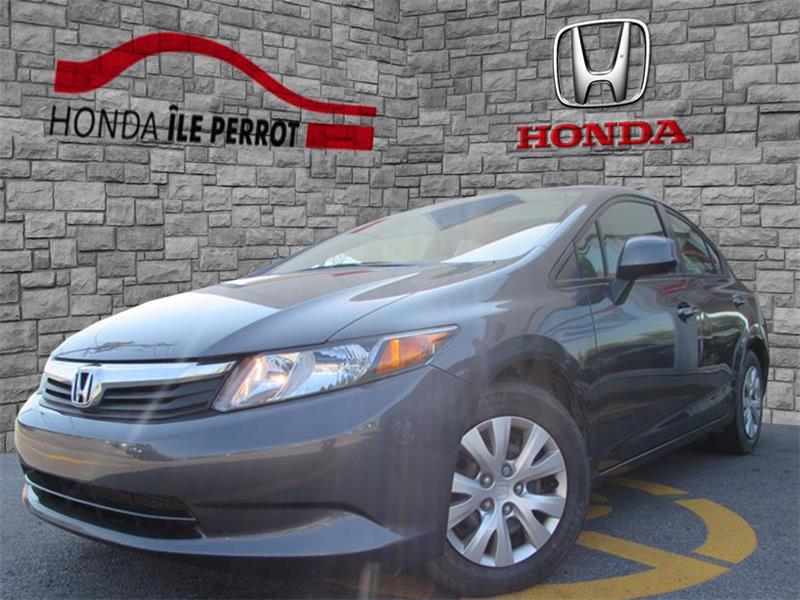 Honda Civic Sdn 2012 4dr Auto LX BLUETOOTH #44224