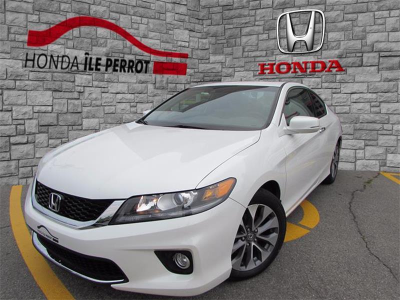 Honda Accord Cpe 2013 2dr I4 Auto EX-L w-Navi BLUETOOTH  #317900-1