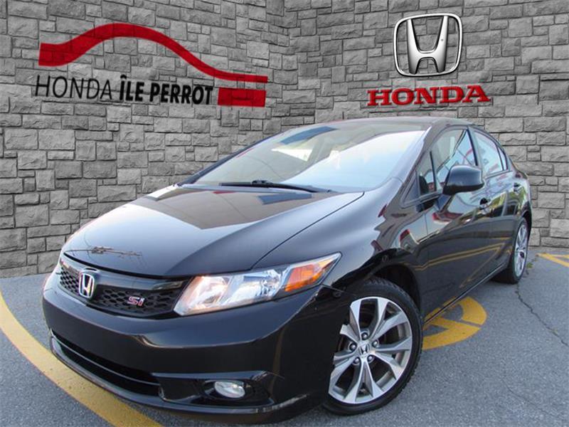 Honda Civic Sdn 2012 4dr Man Si BLUETOOTH  #317931-1