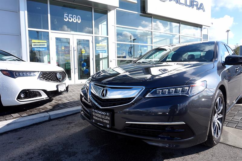 2016 Acura TLX 4dr Sdn FWD Tech #P5790