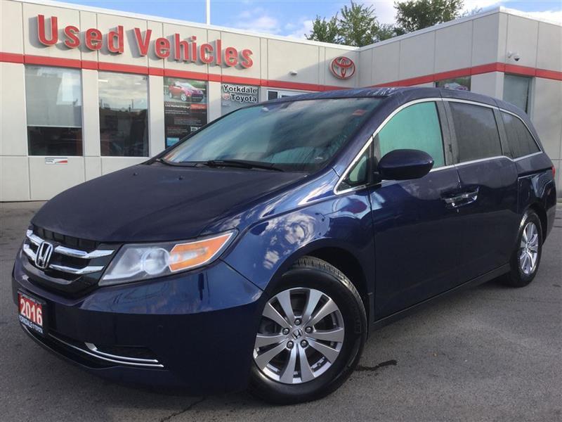 2016 HondaOdyssey55 296 KM$34869 & Yorkdale Toyota | Toronto Toyota dealership markmcfarlin.com