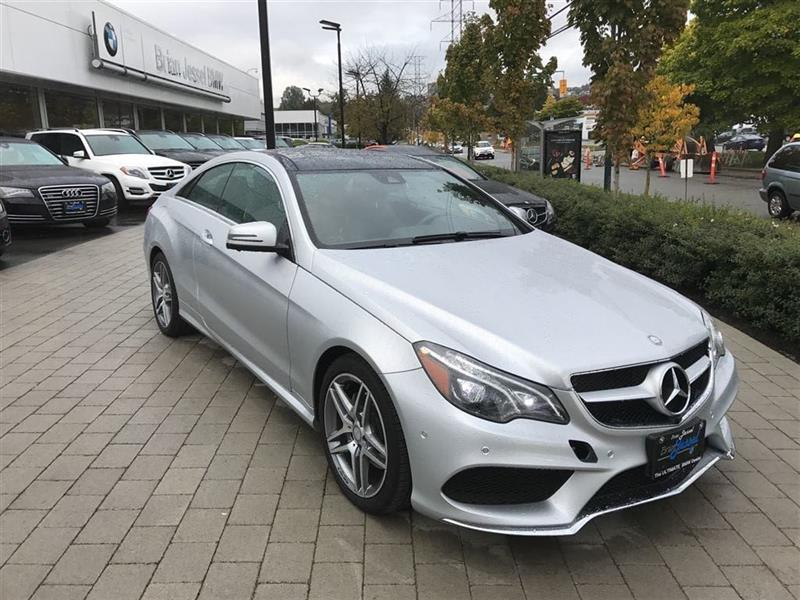 2016 Mercedes-Benz E400 4MATIC Coupe #BP5385