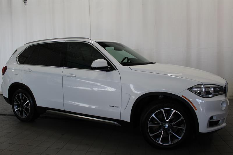 BMW X5 2015 xDrive35i blanc int noir excellente condition #U17-384