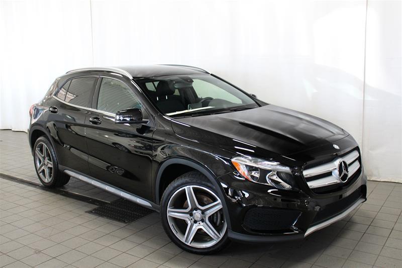 Mercedes-Benz GLA250 2015 4MATIC SUV Certifié avec 2 petites réclamations #U17-382