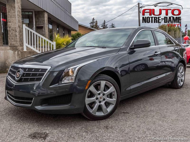 Cadillac ATS 2014 4dr Sdn 2.0L TURBO  AWD 4X4 ** NOUVEL ARRIAVGE  #k0634