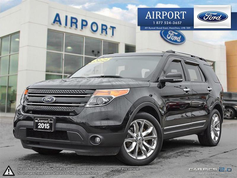 2015 Ford Explorer 4WD 4dr Limited #A70656