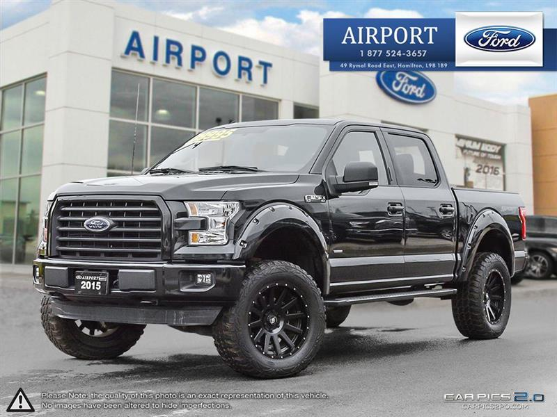 2015 Ford F-150 4WD SuperCrew 145 #0HL966