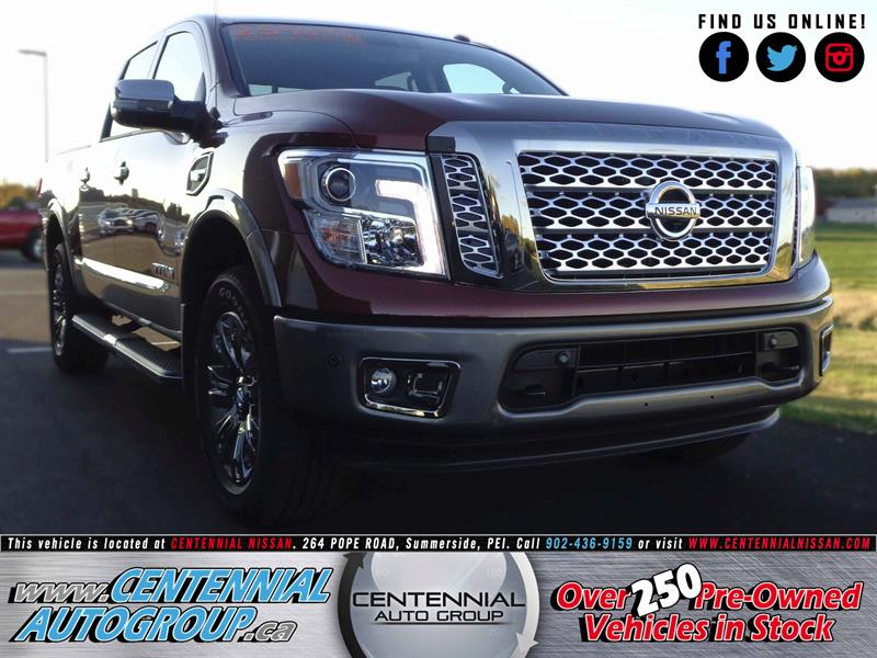 2017 Nissan Titan Platinum Reserve | 4X4 | V8 | Navi | Bluetooth #S17-278