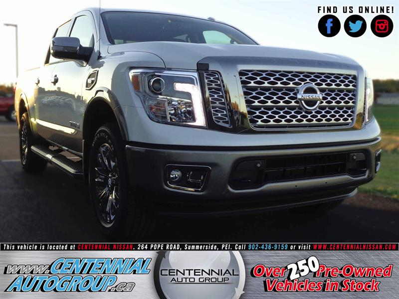 2017 Nissan Titan Platinum Reserve | 4X4 | V8 | Navi | Bluetooth #S17-303